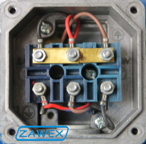 Silnik 3F uzwojenia połączone w gwiazdę