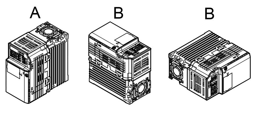 Falowniki Yaskawa J1000 - prawidłowa pozycja montażu