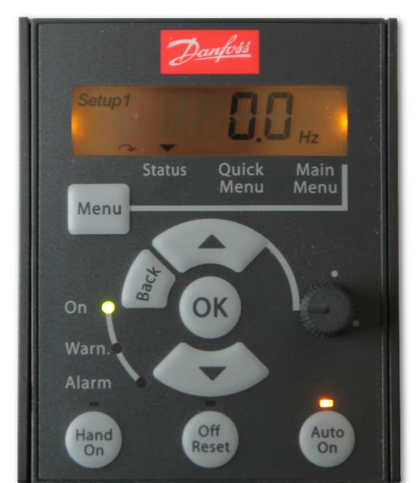 Panel operatorski LCP do falowników Danfoss Micro Drive FC 51