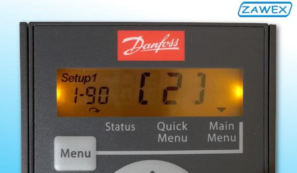 Falownik Danfoss Micro Drive FC 51